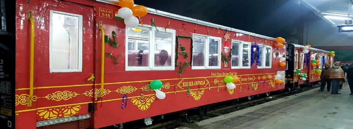 Shimla Kalka Journey by Him Darshan Express