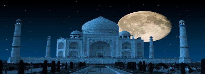 Full Moon Light At Taj Mahal- Chamki Chamki Chamki