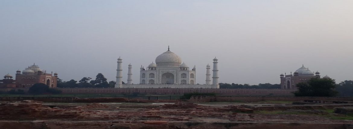 The Best Taj Mahal Sunset view point