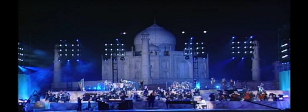 Is The Taj Mahal Lit At Night?
